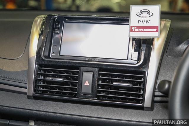 Ngắm Toyota Vios 2017 có camera 360 độ mới ngoài đời thực - Ảnh 10.