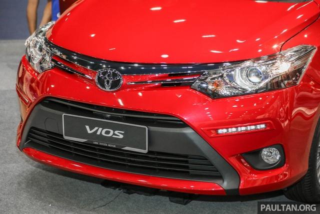 Ngắm Toyota Vios 2017 có camera 360 độ mới ngoài đời thực - Ảnh 12.