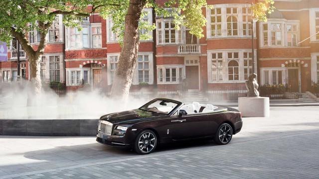 Làm quen với chiếc Rolls-Royce Dawn đặc biệt nhất thế giới - Ảnh 1.