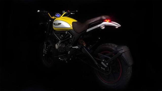 Lifan Hunter 125 nhái Ducati Scrambler ra mắt, giá từ 35,5 triệu Đồng - Ảnh 1.
