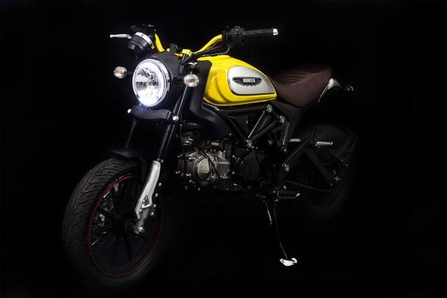 Lifan Hunter 125 nhái Ducati Scrambler ra mắt, giá từ 35,5 triệu Đồng - Ảnh 3.