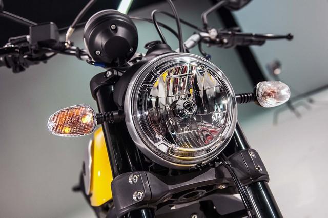 Lifan Hunter 125 nhái Ducati Scrambler ra mắt, giá từ 35,5 triệu Đồng - Ảnh 7.