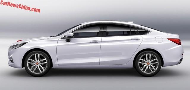 Cận cảnh phiên bản thương mại của Hồng Kỳ H5 được phát triển dựa trên Mazda6 - Ảnh 1.
