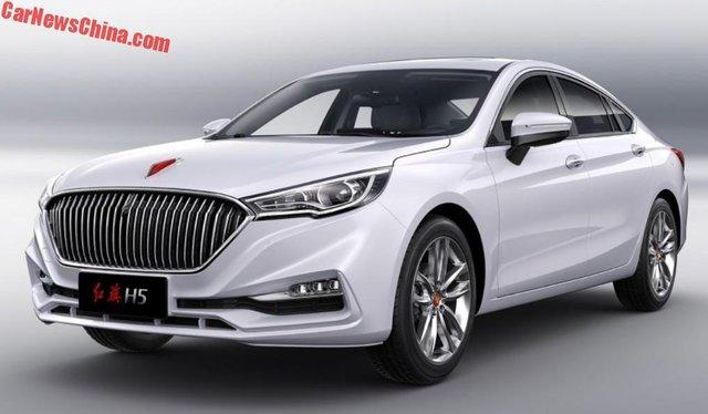 Cận cảnh phiên bản thương mại của Hồng Kỳ H5 được phát triển dựa trên Mazda6 - Ảnh 2.