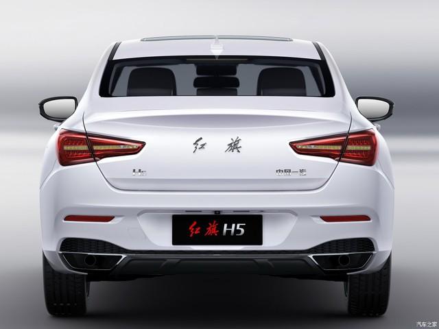 Cận cảnh phiên bản thương mại của Hồng Kỳ H5 được phát triển dựa trên Mazda6 - Ảnh 4.