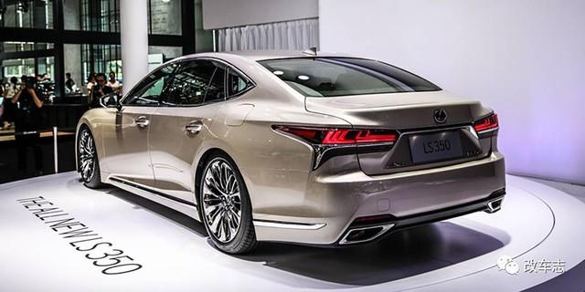 Sedan hạng sang cỡ lớn Lexus LS 2018 có thêm bản tiêu chuẩn mới - Ảnh 7.