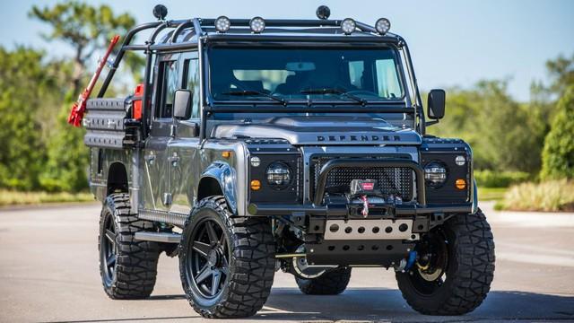 Chiếc Land Rover Defender trong mơ của những người đam mê off-road - Ảnh 1.