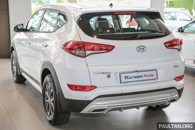 Cận cảnh Hyundai Tucson tăng áp mới ra mắt Đông Nam Á với giá 775 triệu Đồng - Ảnh 6.