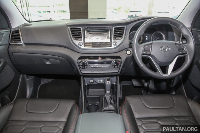 Cận cảnh Hyundai Tucson tăng áp mới ra mắt Đông Nam Á với giá 775 triệu Đồng - Ảnh 7.