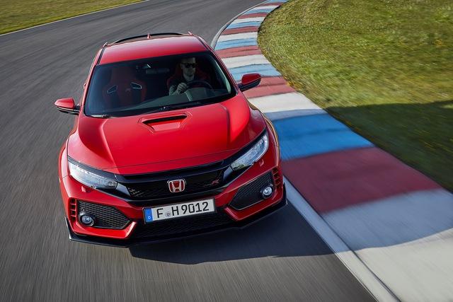 Chi tiết Honda Civic Type R 2018 dành cho lục địa già - Ảnh 2.