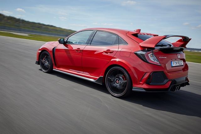 Chi tiết Honda Civic Type R 2018 dành cho lục địa già - Ảnh 4.