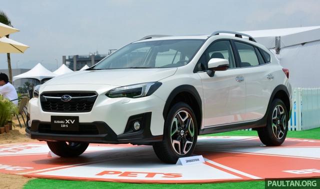 Ngắm kỹ crossover cỡ nhỏ Subaru XV 2017 sẽ về Việt Nam trong thời gian tới - Ảnh 1.