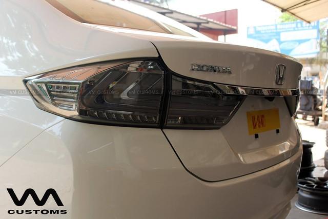 Honda City đời cũ lột xác với hệ thống đèn như Audi TT - Ảnh 2.