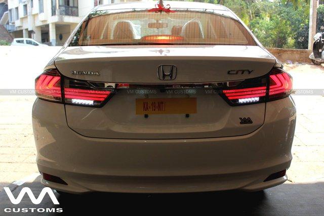 Honda City đời cũ lột xác với hệ thống đèn như Audi TT - Ảnh 5.