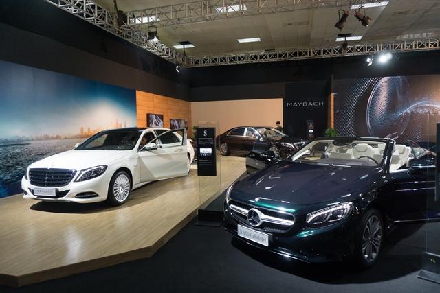 Triển lãm Mercedes-Benz Fascination 2017 chính thức khai mạc tại Hà Nội với dàn xe hơn 150 tỷ Đồng - Ảnh 4.