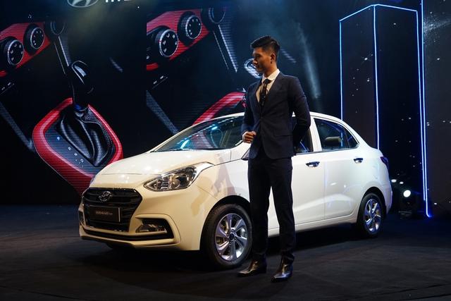 Hyundai Grand i10 2017 lắp ráp tại Việt Nam chính thức ra mắt, giá từ 340 triệu Đồng - Ảnh 2.