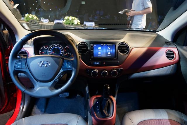 Hyundai Grand i10 2017 lắp ráp tại Việt Nam chính thức ra mắt, giá từ 340 triệu Đồng - Ảnh 4.