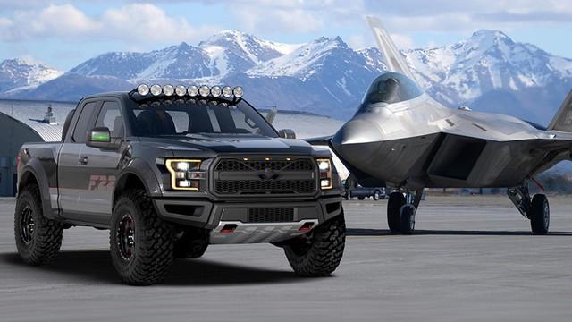 Xe bán tải khủng long Ford F-150 Raptor mang phong cách chiến đấu cơ - Ảnh 1.