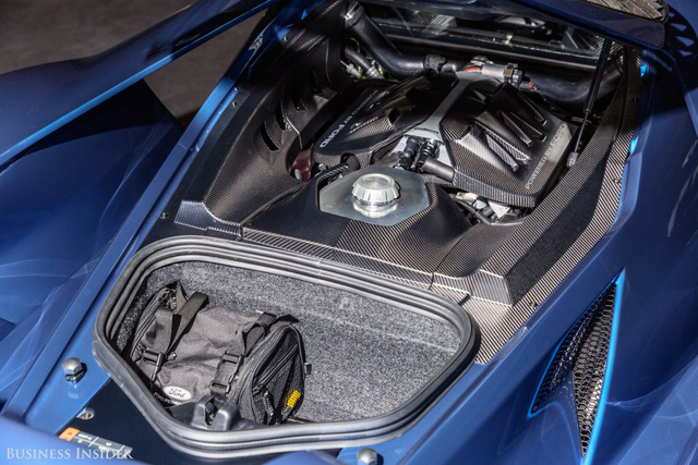 Khám phá những tính năng thú vị nhất của siêu xe kén khách Ford GT 2017  - Ảnh 7.