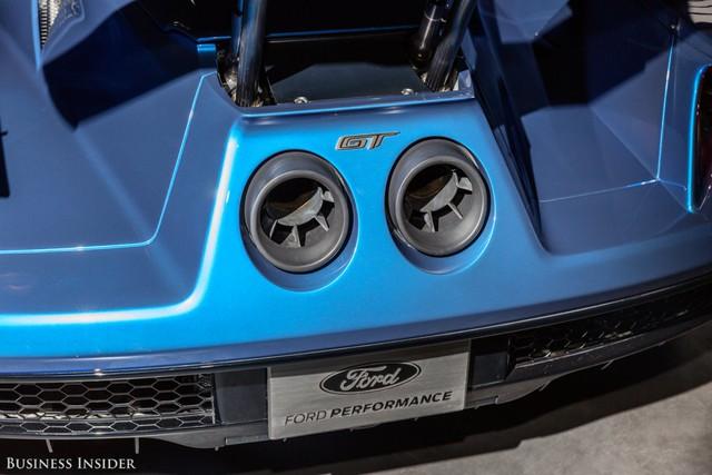 Khám phá những tính năng thú vị nhất của siêu xe kén khách Ford GT 2017  - Ảnh 8.