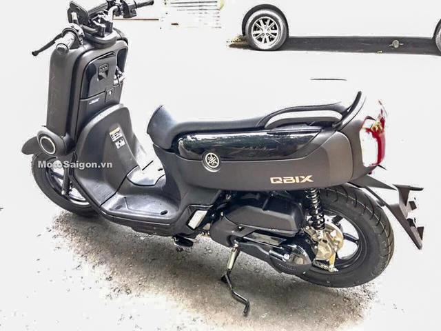 Xe ga Yamaha QBIX thứ 2 về Việt Nam với trang bị nghèo nàn hơn - Ảnh 2.