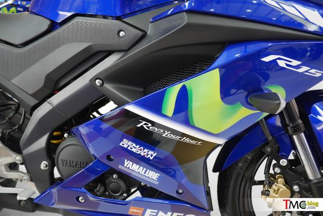 Mô tô thể thao Yamaha R15 3.0 có thêm phiên bản Movistar mới - Ảnh 2.