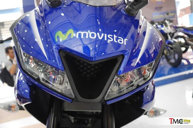 Mô tô thể thao Yamaha R15 3.0 có thêm phiên bản Movistar mới - Ảnh 10.