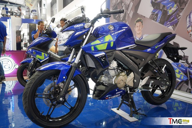 Xe côn tay Yamaha V-Ixion 2017 mới ra mắt đã có thêm phiên bản Movistar - Ảnh 2.