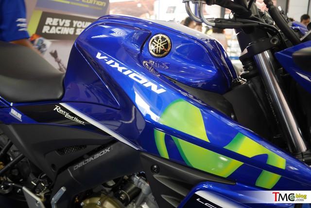 Xe côn tay Yamaha V-Ixion 2017 mới ra mắt đã có thêm phiên bản Movistar - Ảnh 3.