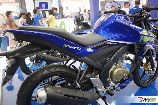 Xe côn tay Yamaha V-Ixion 2017 mới ra mắt đã có thêm phiên bản Movistar - Ảnh 10.