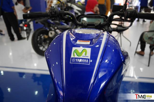 Xe côn tay Yamaha V-Ixion 2017 mới ra mắt đã có thêm phiên bản Movistar - Ảnh 9.