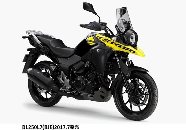 Suzuki V-Strom 250 2017 được tung ra thị trường với giá 114 triệu Đồng - Ảnh 3.