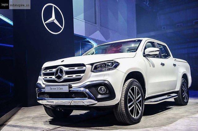 Cận cảnh vẻ đẹp bằng xương, bằng thịt của xe bán tải hạng sang Mercedes-Benz X-Class 2018 - Ảnh 11.