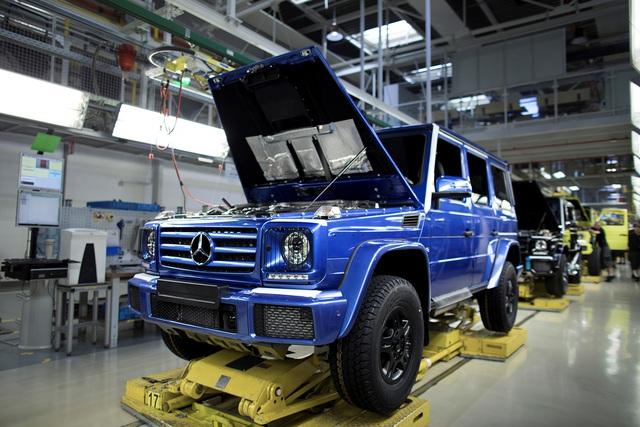 Vua địa hình Mercedes-Benz G-Class thứ 300.000 xuất xưởng - Ảnh 1.
