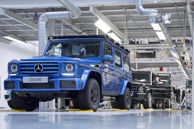 Vua địa hình Mercedes-Benz G-Class thứ 300.000 xuất xưởng - Ảnh 3.