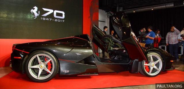 Siêu phẩm Ferrari LaFerrari Aperta ra mắt tại Malaysia, nhà giàu Việt phát thèm - Ảnh 12.