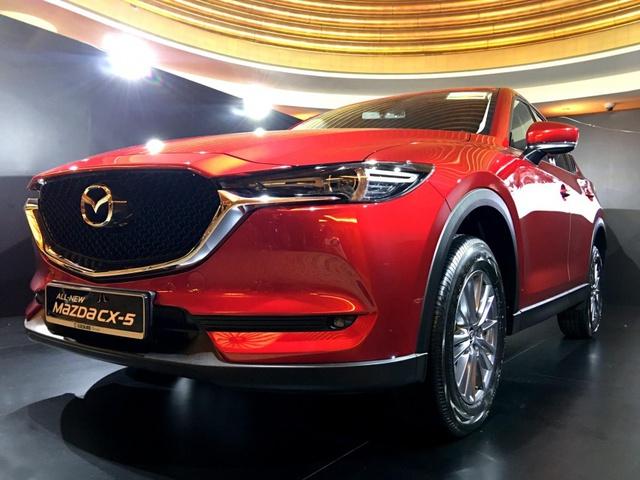 Mazda CX-5 2017 bất ngờ ra mắt Đông Nam Á với giá chát - Ảnh 5.