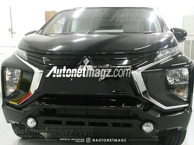 Lần đầu diện kiến dung nhan thật của Mitsubishi Expander sắp ra mắt - Ảnh 1.