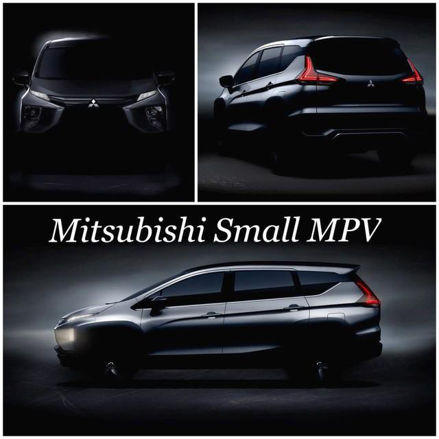 Lần đầu diện kiến dung nhan thật của Mitsubishi Expander sắp ra mắt - Ảnh 2.