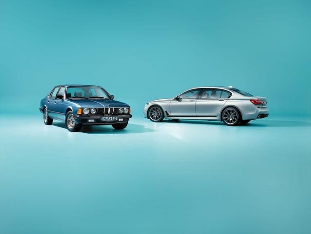 BMW giới thiệu phiên bản kỷ niệm 40 năm ra đời dòng xe sang 7-Series - Ảnh 1.