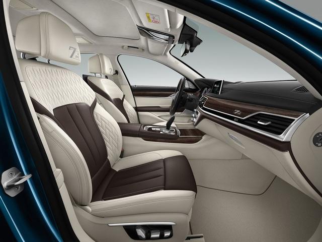 BMW giới thiệu phiên bản kỷ niệm 40 năm ra đời dòng xe sang 7-Series - Ảnh 8.