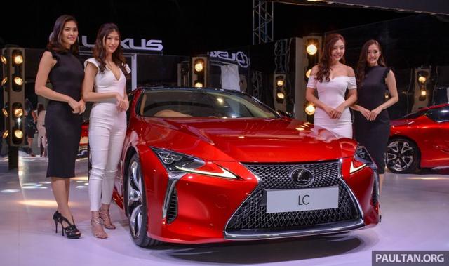 Lexus LC 500 2018 chính thức trình làng tại Malaysia, đại gia Việt phát thèm - Ảnh 1.