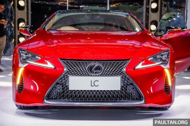 Lexus LC 500 2018 chính thức trình làng tại Malaysia, đại gia Việt phát thèm - Ảnh 6.