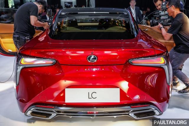 Lexus LC 500 2018 chính thức trình làng tại Malaysia, đại gia Việt phát thèm - Ảnh 7.