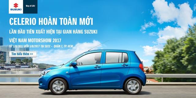 Suzuki Celerio - Lựa chọn mới cho người Việt trong phân khúc xe giá rẻ - Ảnh 1.