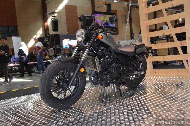 Xe cruiser Honda Rebel 2017 ra mắt Malaysia với giá 168 triệu Đồng - Ảnh 2.