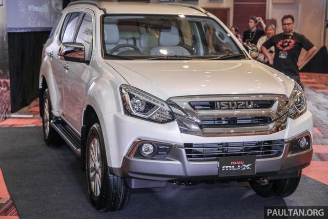 Ngắm kỹ Isuzu MU-X 2017 có thể về Việt Nam trong tương lai để cạnh tranh Toyota Fortuner - Ảnh 1.