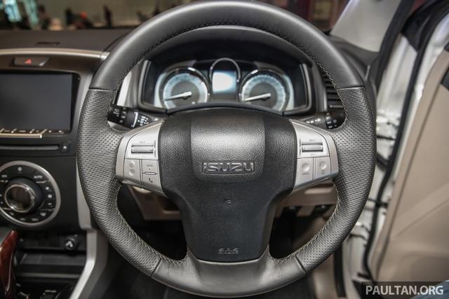 Ngắm kỹ Isuzu MU-X 2017 có thể về Việt Nam trong tương lai để cạnh tranh Toyota Fortuner - Ảnh 9.