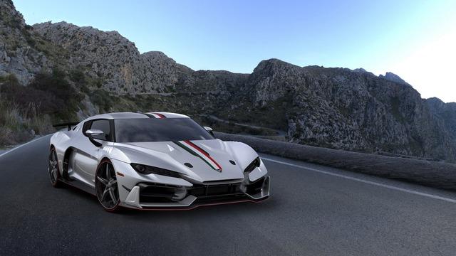 Siêu xe triệu đô Italdesign Zerouno ra đời từ Lamborghini Huracan đã cháy hàng - Ảnh 1.