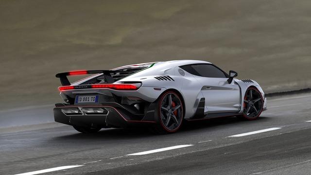 Siêu xe triệu đô Italdesign Zerouno ra đời từ Lamborghini Huracan đã cháy hàng - Ảnh 3.